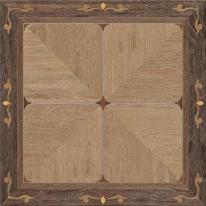 Керамічна плитка Golden Tile Valencia 400х400 мм коричневий