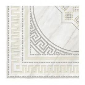 Плитка керамічна Golden Tile Каррара декоративна 400х400 мм білий (Е50830)