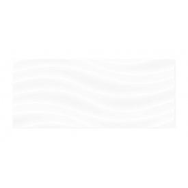 Керамическая плитка Golden Tile Volna 200х500 мм белый