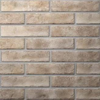 Плитка керамическая Golden Tile BrickStyle Oxford 60х250 мм бежевый