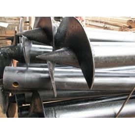Винтовая свая 159х4,5 мм 350 мм 4 м