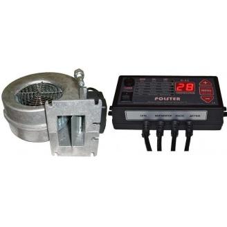 Комплект автоматики Polster C-11 з вентилятором WPA 117 для твердопаливного котла 34 Вт