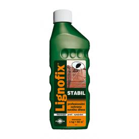 Пропитка для древесины Lignofix Stabil невымываемая 1 кг