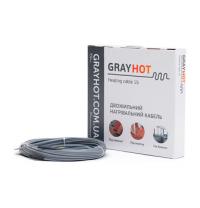 Кабель нагревательный GrayHot двухжильный 4,5х5,5 мм 38 м