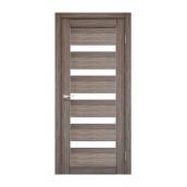Дверне полотно Korfad Porto PR-03 40х600х2000 мм дуб грей
