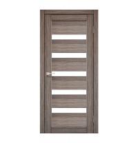 Дверное полотно Korfad Porto PR-03 40х600x2000 мм дуб грей