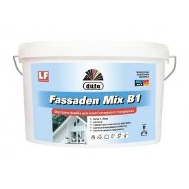 Краска Dufa Fassaden Mix B1 2,5 л белый