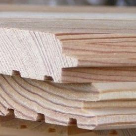 Фальш-брус сосновый 115x18 мм