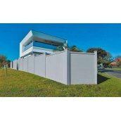 Модульний паркан із СІП-панелі 60 мм 4х2,4 м