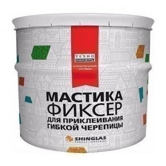 Мастика для гнучкої черепиці ТехноНІКОЛЬ №23 Фіксер 12 кг