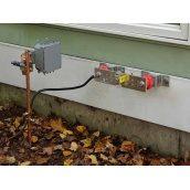 Подключение электроагрегата к заземлительному устройству