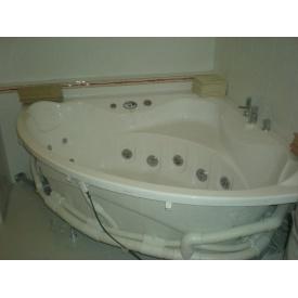 Установка ванной с гидромассажем