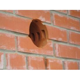 Бурение отверстия диаметром 26 см в кирпичной стене
