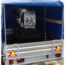 Транспортировка электрооборудования без погрузки и выгрузки