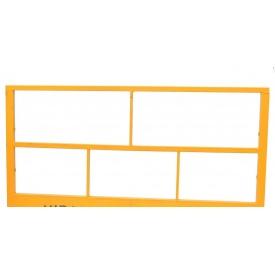 Передня балюстрада(сталь) будівельної люльки zlp 630