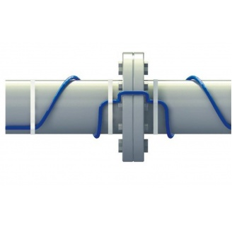 Кабель FS10 со встроенным термостатом для обогрева трубопровода 10 Вт/м