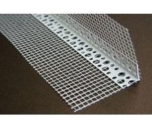 Угол перфорированный Максибуд с сеткой 2,5 м пластик