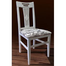 Деревянный стул Юля Феникс 960х410х450 мм белый