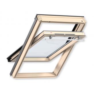 Мансардное окно VELUX OPTIMA Комфорт GLR 3073 МR10 деревянное 780х1600 мм