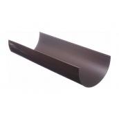 Жолоб водостічний Docke Standard 120 мм 3 м шоколад