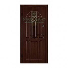 Бронированные двери Флора 880х2040 мм орех