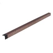 Уголок внешний металлический ТехноНИКОЛЬ Hauberk 4,5 мм мраморный