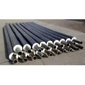 Труба теплоізольована Металлимпорт в ПЕ оболонці 108/200 мм