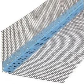 Профиль ПВХ THERMOMASTER 10+10 с сеткой для внешних углов 3м