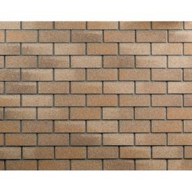 Фасадная плитка ТехноНИКОЛЬ HAUBERK 1000х250х3 мм песчаный кирпич