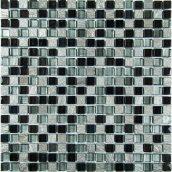 Мозаика мрамор стекло VIVACER 1,5х1,5 DAF23, 30х30 cм