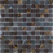 Мозаика мрамор стекло VIVACER SYNmix02, 30х30 см