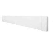 Инфракрасный теплый плинтус Uden-S 100 металл 498х130х35 мм белый