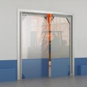 Распашные ворота DoorHan пленочные морозостойкие