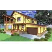 Проект каркасного будинку з СІП-панелей Просторий 205 м2