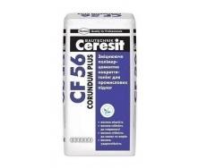 Упрочняющее полимерцементная покрытие-топинг Ceresit CF 56 Corundum Plus 25 кг серый