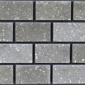 Плитка фасадна РуБелЭко тичкова 120х65х20 мм графіт (ПТ6)
