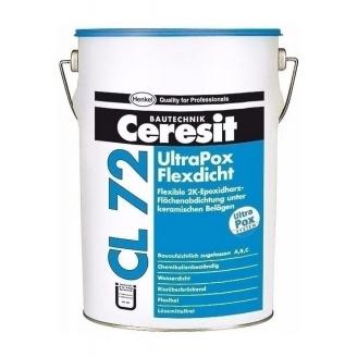 Епоксидна гідроізоляційна суміш Ceresit CL72 UltraPox FlexPrimer 10 кг хімічно стійке покриття