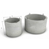 Железобетонное кольцо для колодца КС 20.9 с дном 220 см