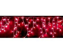 Светодиодная гирлянда led 3x0,5 м красная бахрома