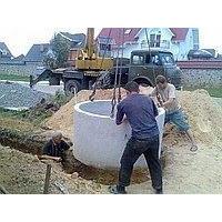 Копка каналізаційних колодязів