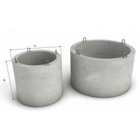Залізобетонне кільце для колодязя КС 20.9 + ПН 2200 мм