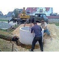 Копка канализационных колодцев
