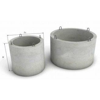 Залізобетонне кільце для колодязя з дном КС 10.9