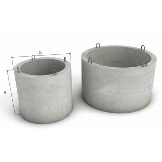 Кольцо колодезное железобетонное КС 7.9 700 мм