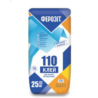 Клеевая смесь Ферозит 110 для теплоизоляции с армированием 25 кг