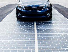 В Китае украли кусок дороги на солнечных панелях через неделю после открытия