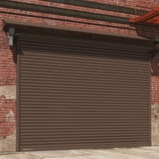 Рулонные ворота DoorHan из стальных профилей RHS117