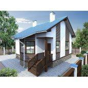 Будівництво будинку проект Вікторія 61 м2