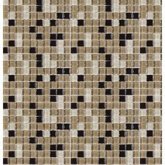 Мозаика стеклянная VIVACER MixL02, 30х30 cм