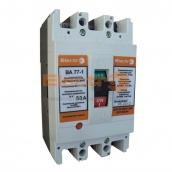 Автоматичний вимикач ElectrO ВА77-1-125 трьохполюсний 125 А 380 В 8-12 ln